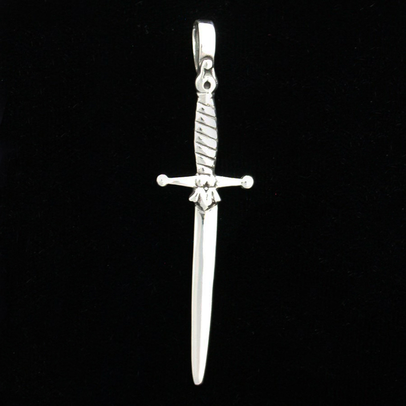 Sterling silver sword pendantwholesale jewelry by zeppo sterling silver sword pendant aloadofball Images
